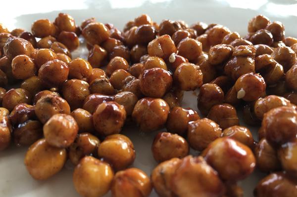 kikkererwten met honing